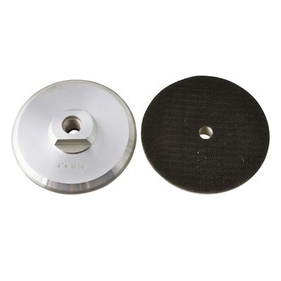 Alum Backing Plate M14 100mm