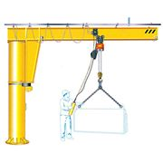 BRAND NEW 7m X 4m HIGH JIB CRANE with KONE HOIST. Price includes delivery.*