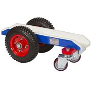 4 Wheel Slab Dolly - White Rubber