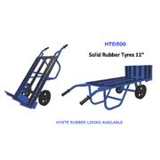 Hand Truck Dolly - White Rubber