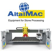 Brand New AITALMAC 5 AXIS BRIDGE SAW-ORBIT A5