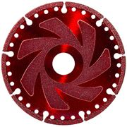 Vacuum Brazed Diamond Multi Function Blade 125mm (Red)