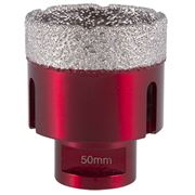 M14 Thread  Vacuum Core Drill (Transparent Red) 50mm