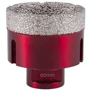 M14 Thread  Vacuum Core Drill (Transparent Red) 60mm
