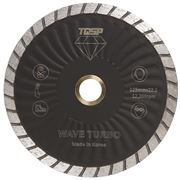 Wave Turbo Blade 125mm Granite and Engineered