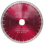 EDIA Professional Red Orca 400mm Sandwich Saw Blade for Granite / Engineered 60mm Bore