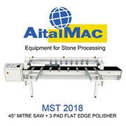 AitalMac MST 2018 45 Degree Mitre Saw + 3 Pad Polisher
