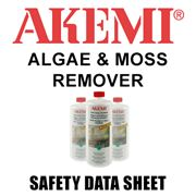 Algae & Moss Remover Safety Data Sheet
